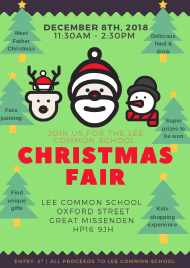 Our annual Christmas Fair raises money and is a great community social event