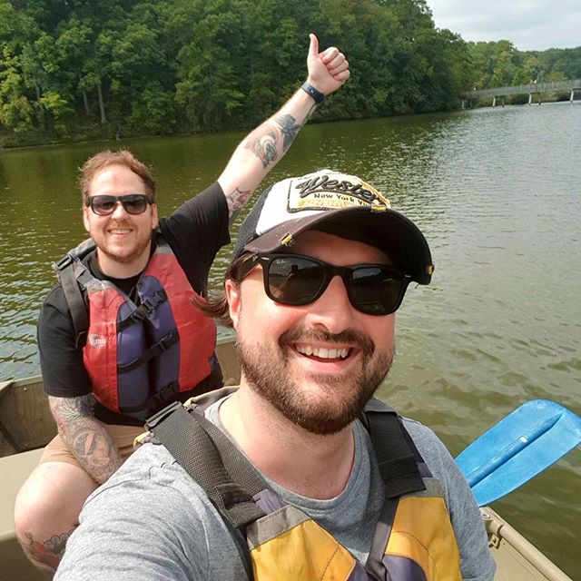 Jack and Joe had a fantastic visit last week in North Carolina, outside of chatting to an incredibly talented audio team they managed to fit in a couple of adventures #gameaudio