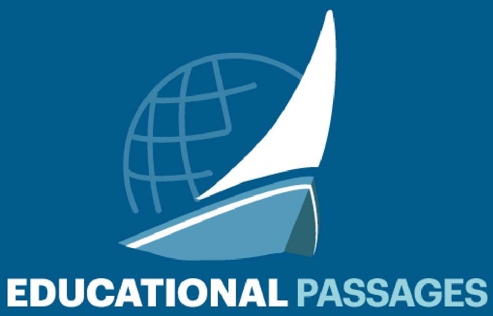 "Educational passages - ""Global science and relations patterns while participating in fun learning opportunities as your GPS equipped miniboat sails off to far away lands."""