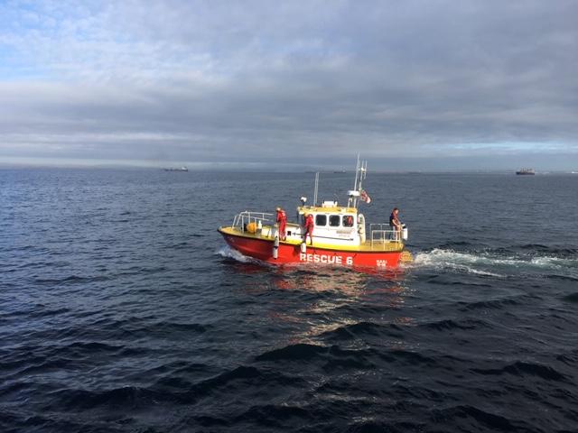 Rescue boat at Port Elizabeth