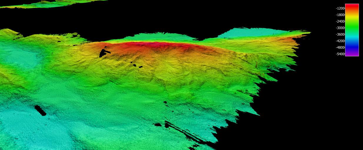 Peridotite Mountain- ~30 km long