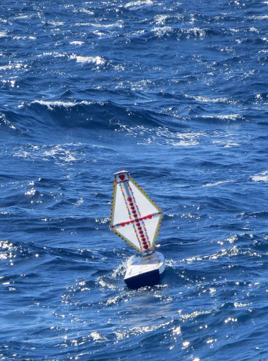 Sailing away…..