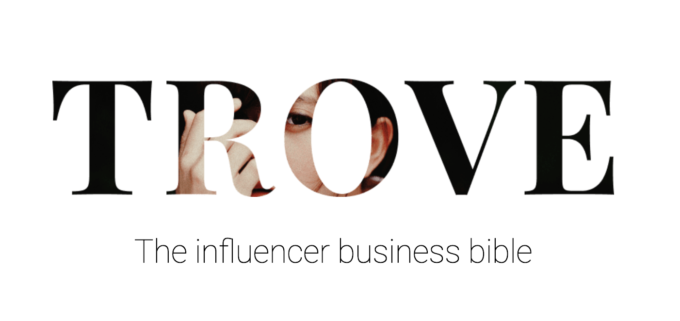 Trove Business, Tagline - I also wrote all content and copy on trovebusiness.com.