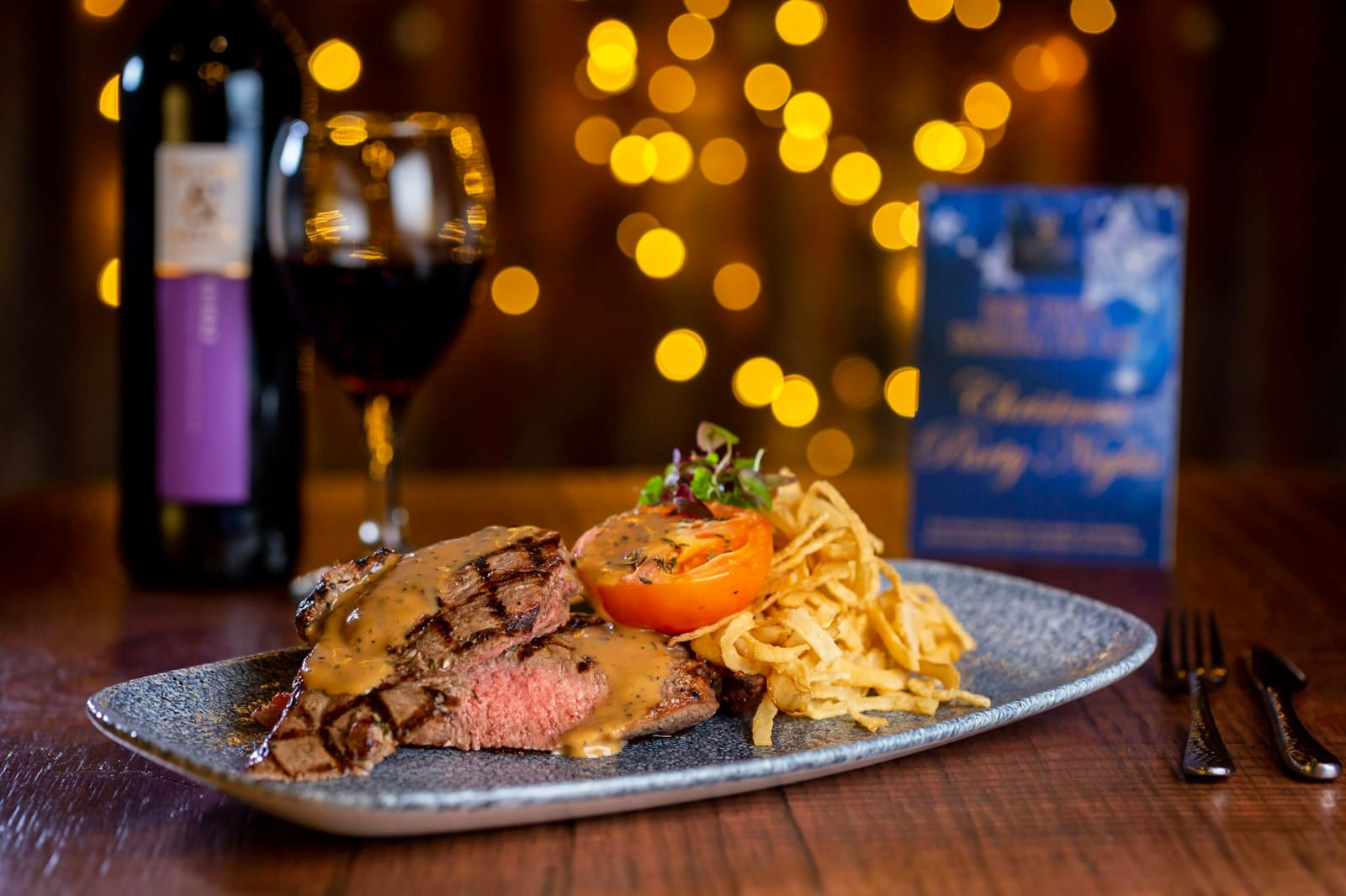 Best steak antrim top of the Town Christmas