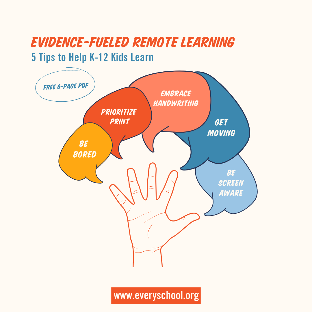 5 Tips To Evidence Fueled Remote Learning Pdf Everyschool