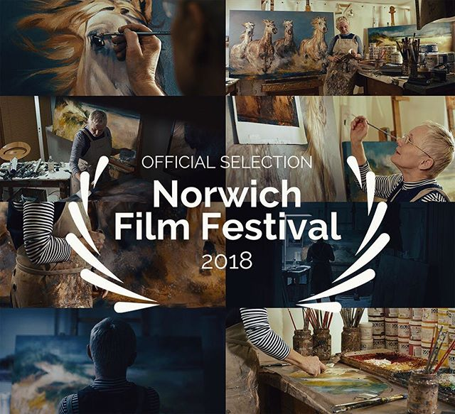 So thrilled that our short doc film on Debbie Boon has been included in the official selection of Norwich Film Festival 2018. #nff2018  We can't wait to check out all the other amazing films being screened this year, including the awesome @sylvia_film! :)