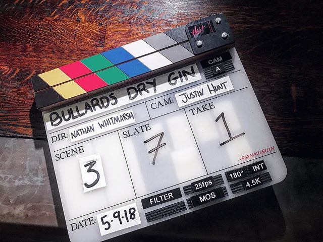 Slate of the day with the fantastic @bullardsnorwichgin 🎥