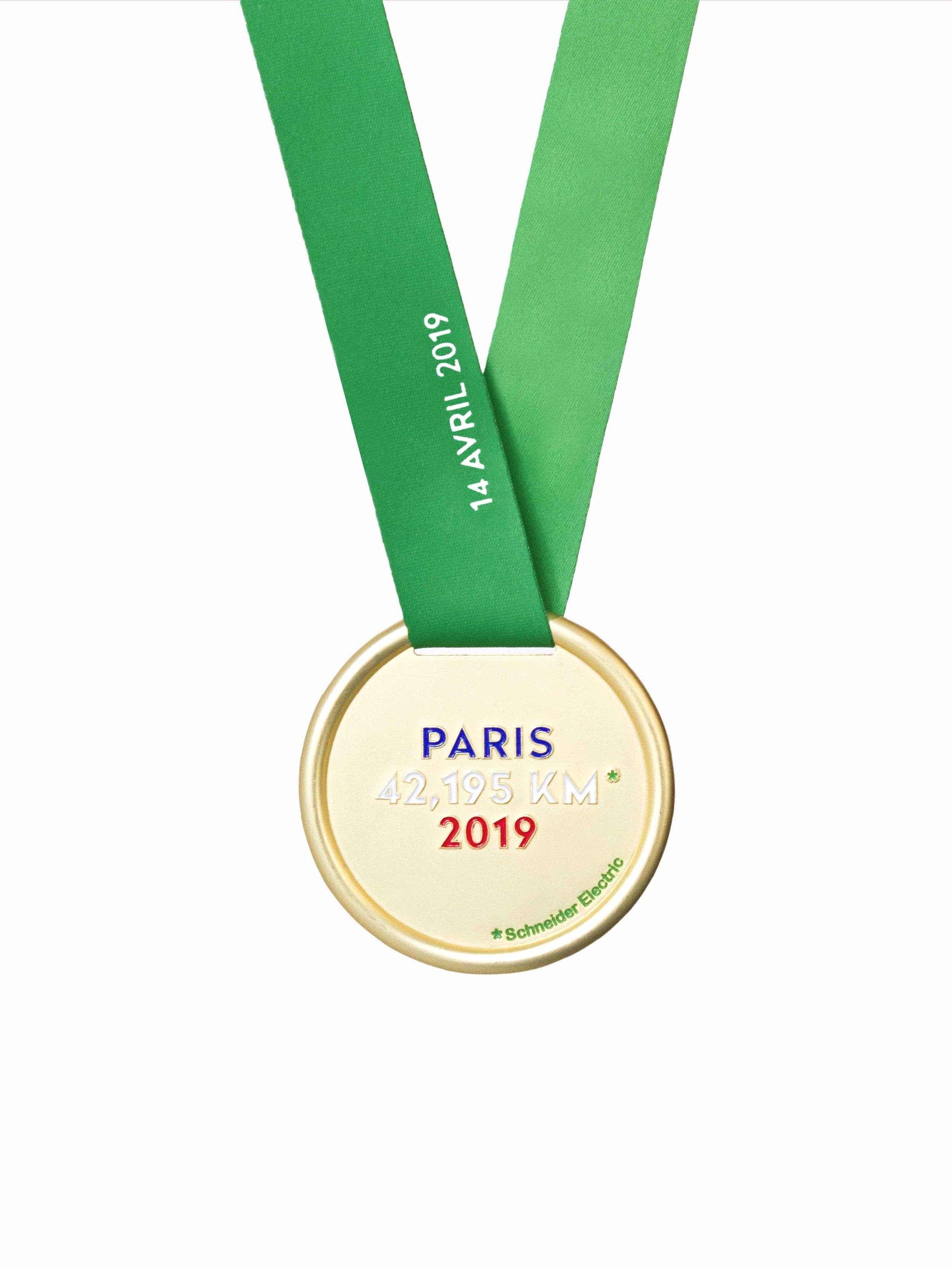LA MÉDAILLE - MARATHON DE PARIS