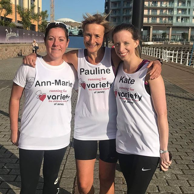 A big big thank you to our runners Pauline Huelin, Bernie Manning, Paul Burrows, Nicola Gott and Ann-Marie Pereira who are taking part in #thegreatnorthrun this weekend and Kate Primrose who is in the #royalparks this October.  #varietyjersey wish them the very best of luck.