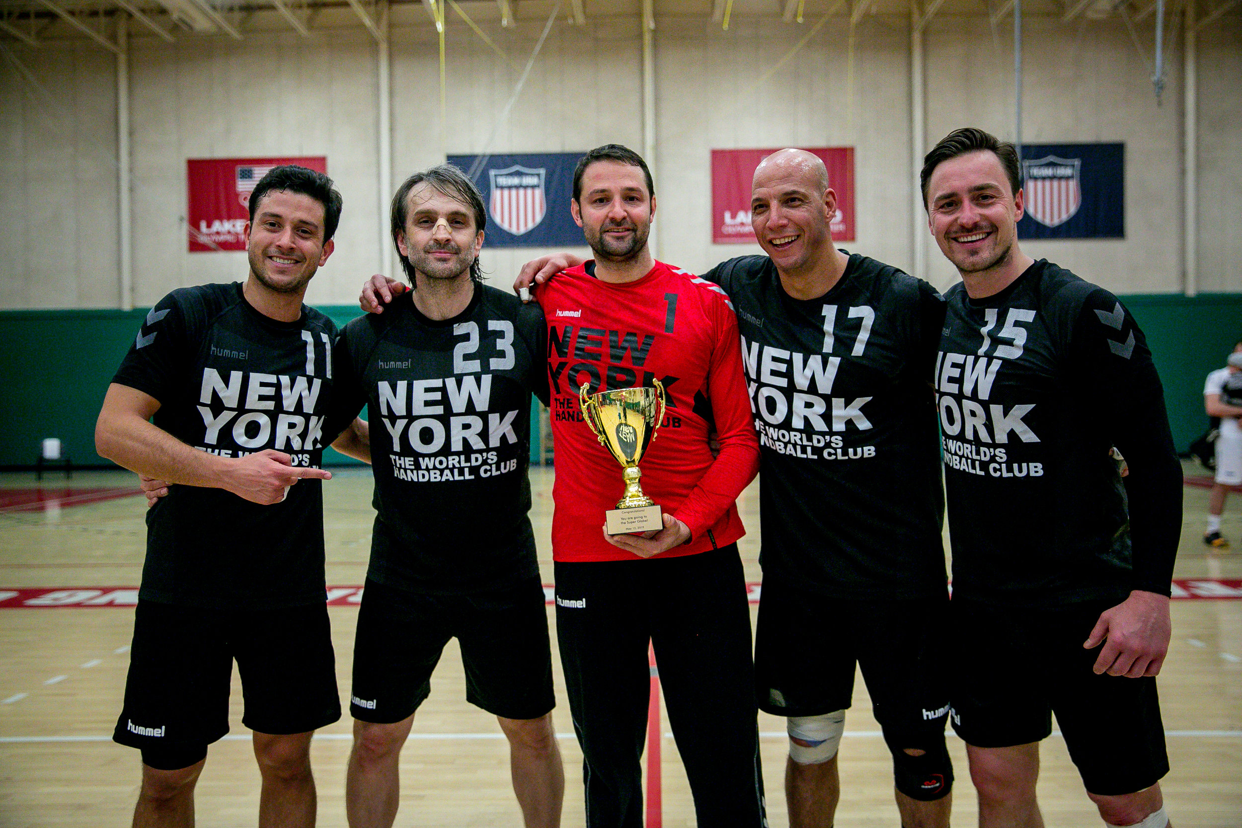 Champions of NorCa Club Championship