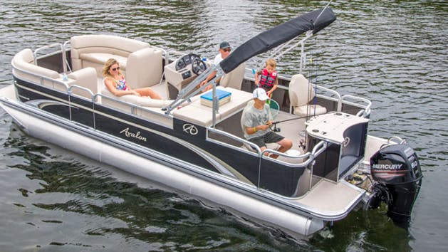 Pontoon 25' - from $170