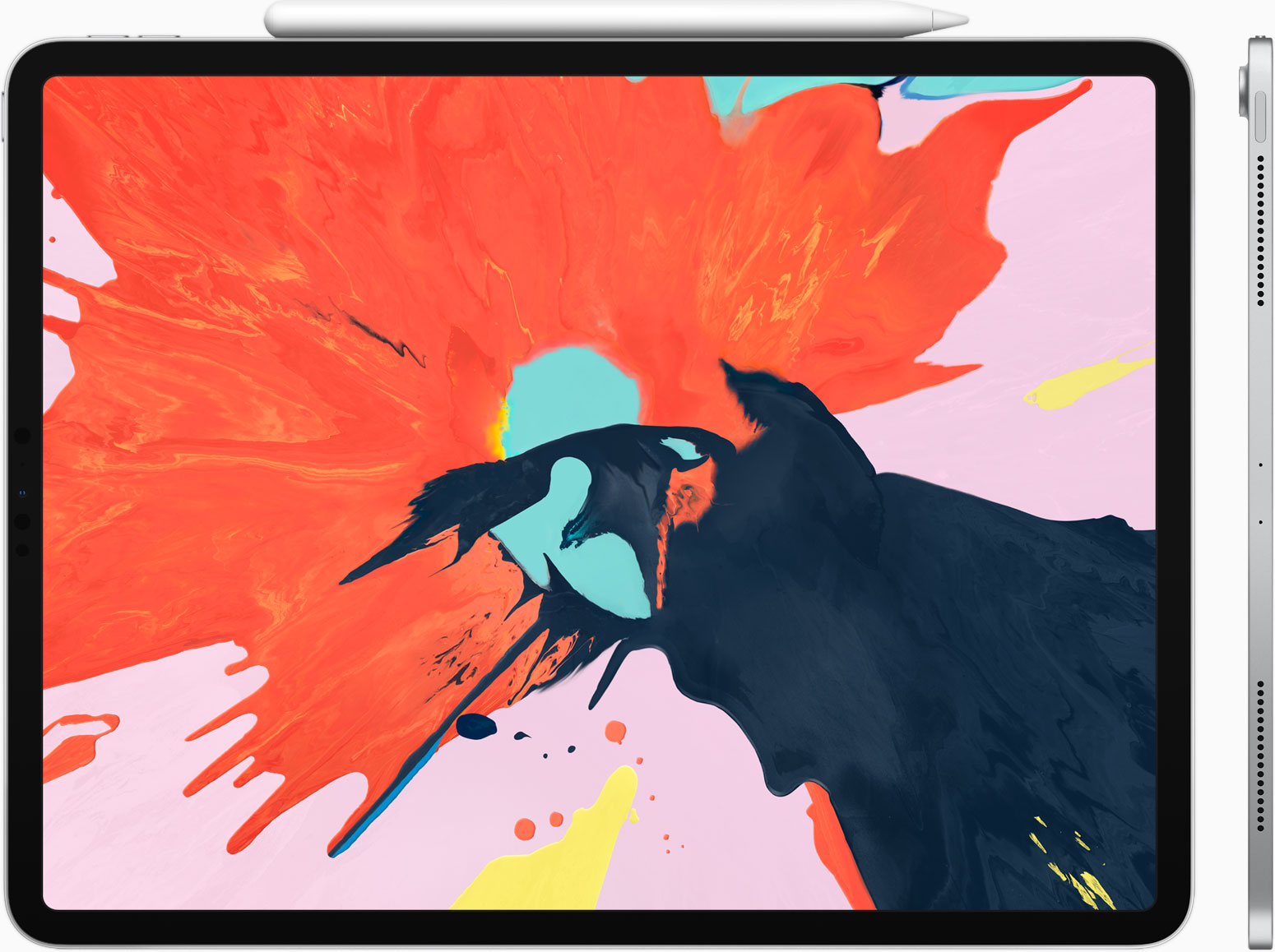 It's all new, all screen and all powerful. - iPad Pro