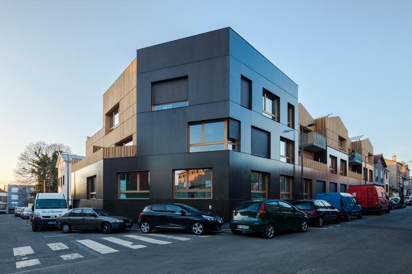 1ère Oeuvre de l'équerre d'Argent - NZI Nominé pour son projet de 26 logements participatifs à Montreuil
