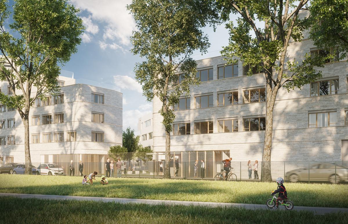 Lauréat ! Résidence sociale de 140 logements à Aubervilliers - Décembre 2018