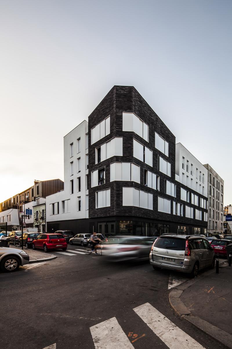 Livré ! 31 logements sociaux H&E et locaux d'activités à Aubervilliers Avril 2018