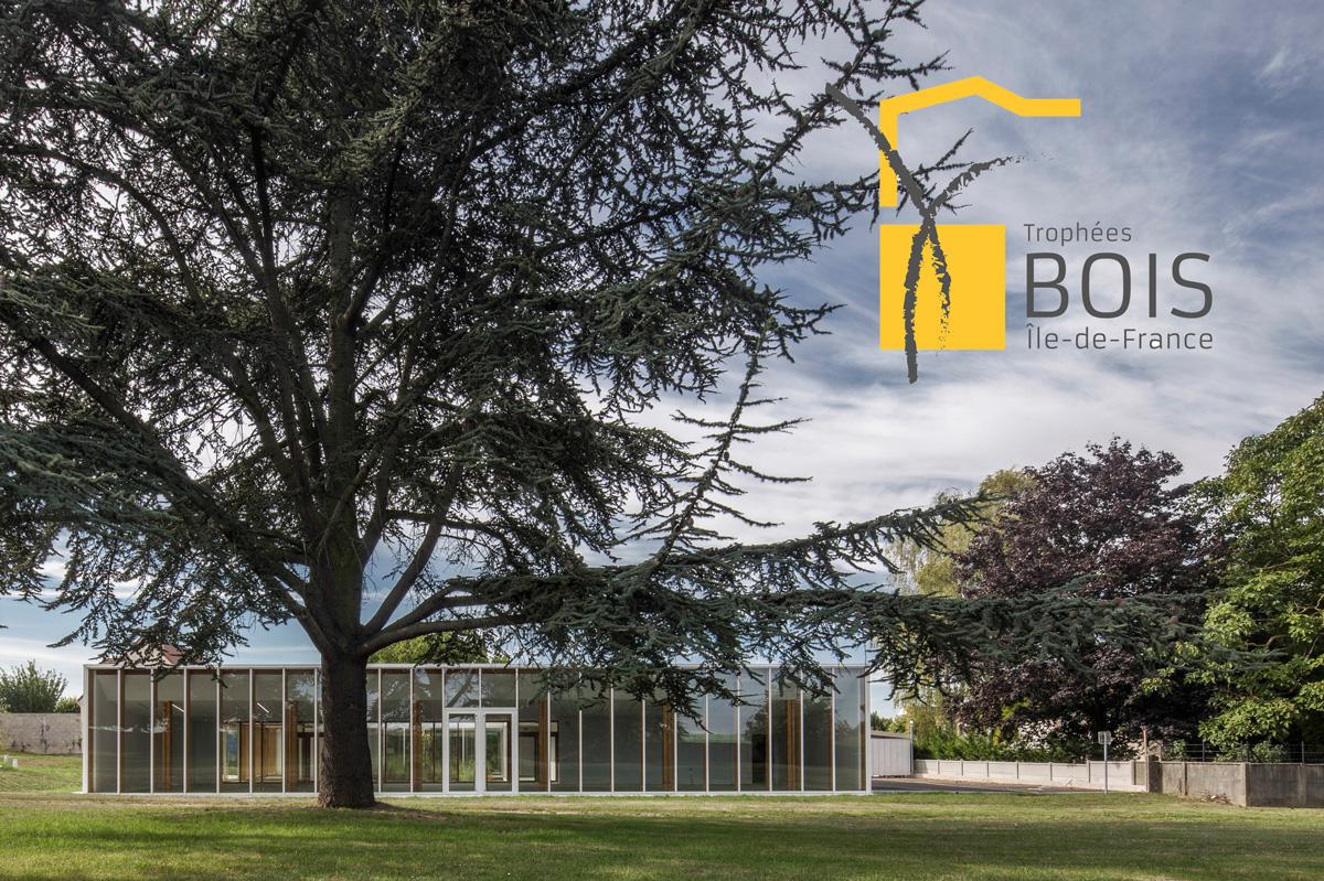 Le projet de Centre d'activités de Bonneuil-en-France  Lauréat des trophées Bois Île de France , catégorie équipement public, culture et petite enfance ! Juin 2019