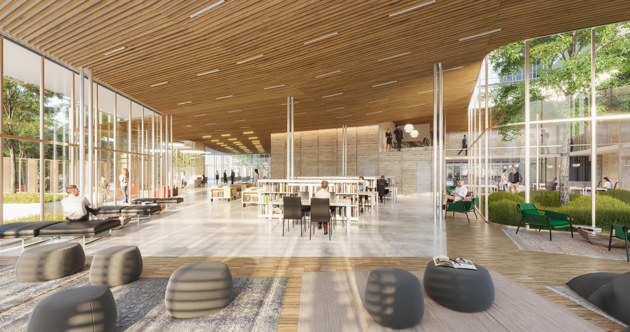 Bibliothèque - NZI Architectes