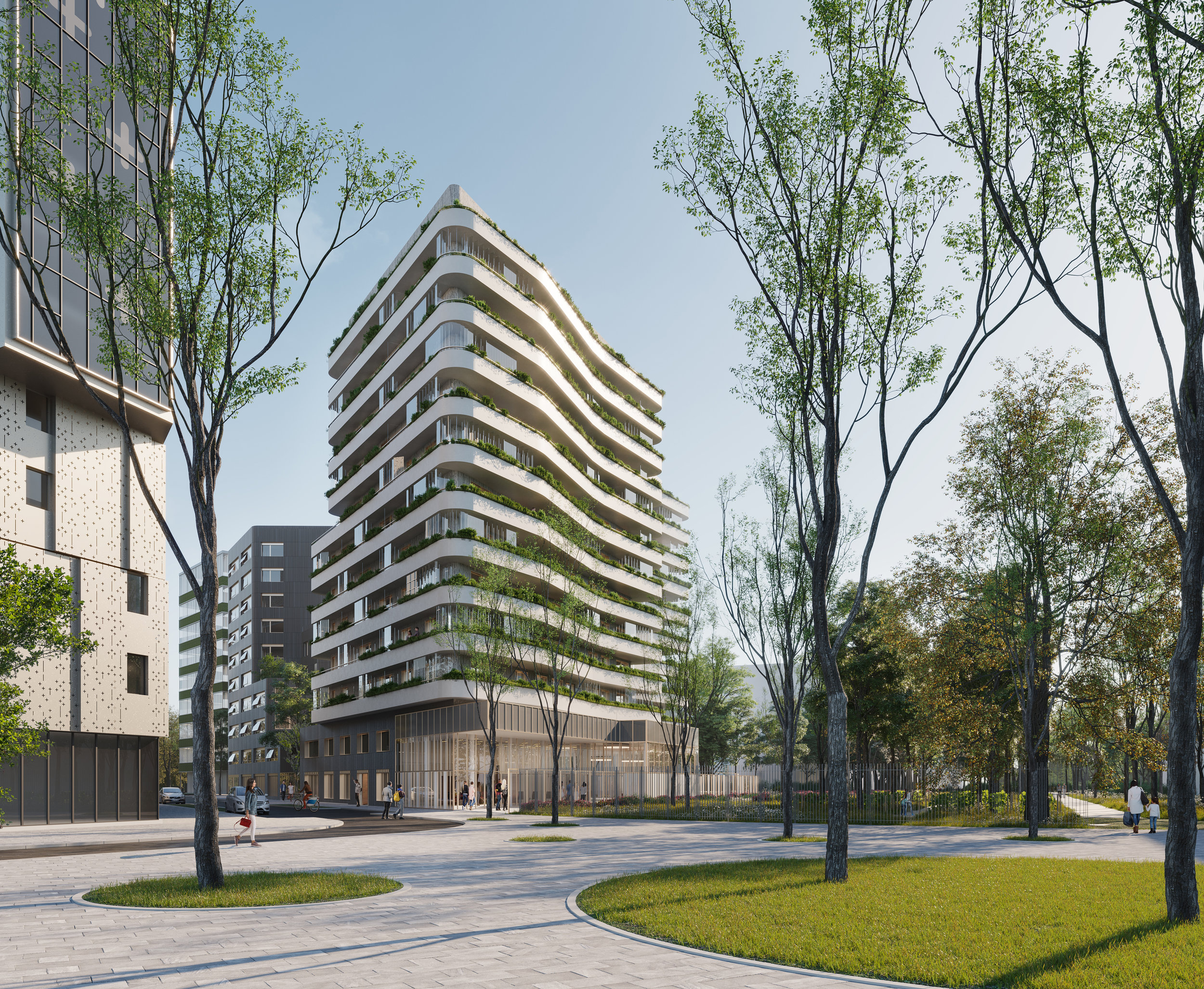 75 logements sociaux - Nunc Architectes