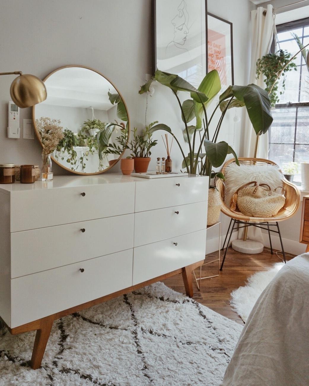 west elm dresser boho bedroom
