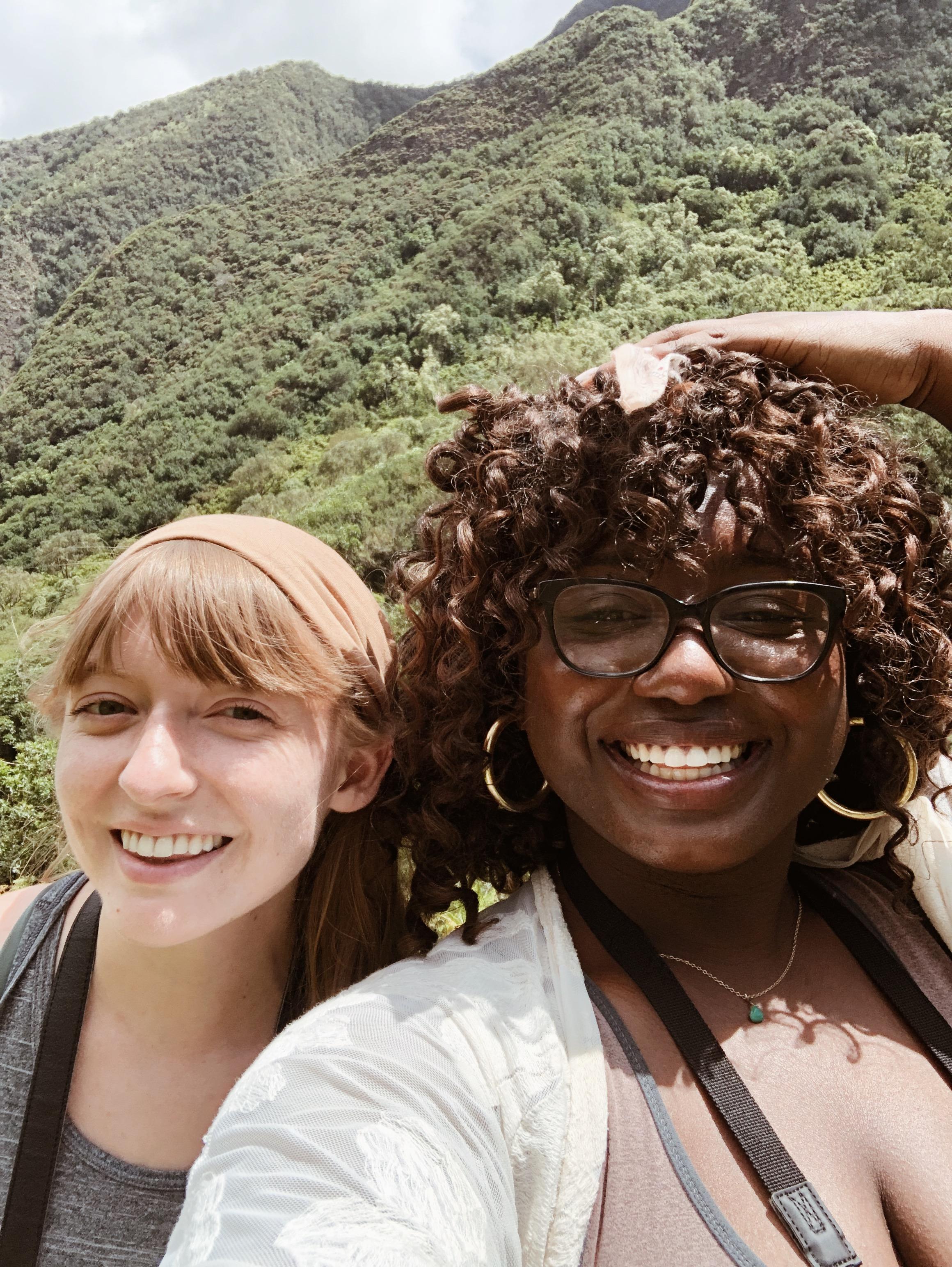 My travel buddy and bestie Brittany!