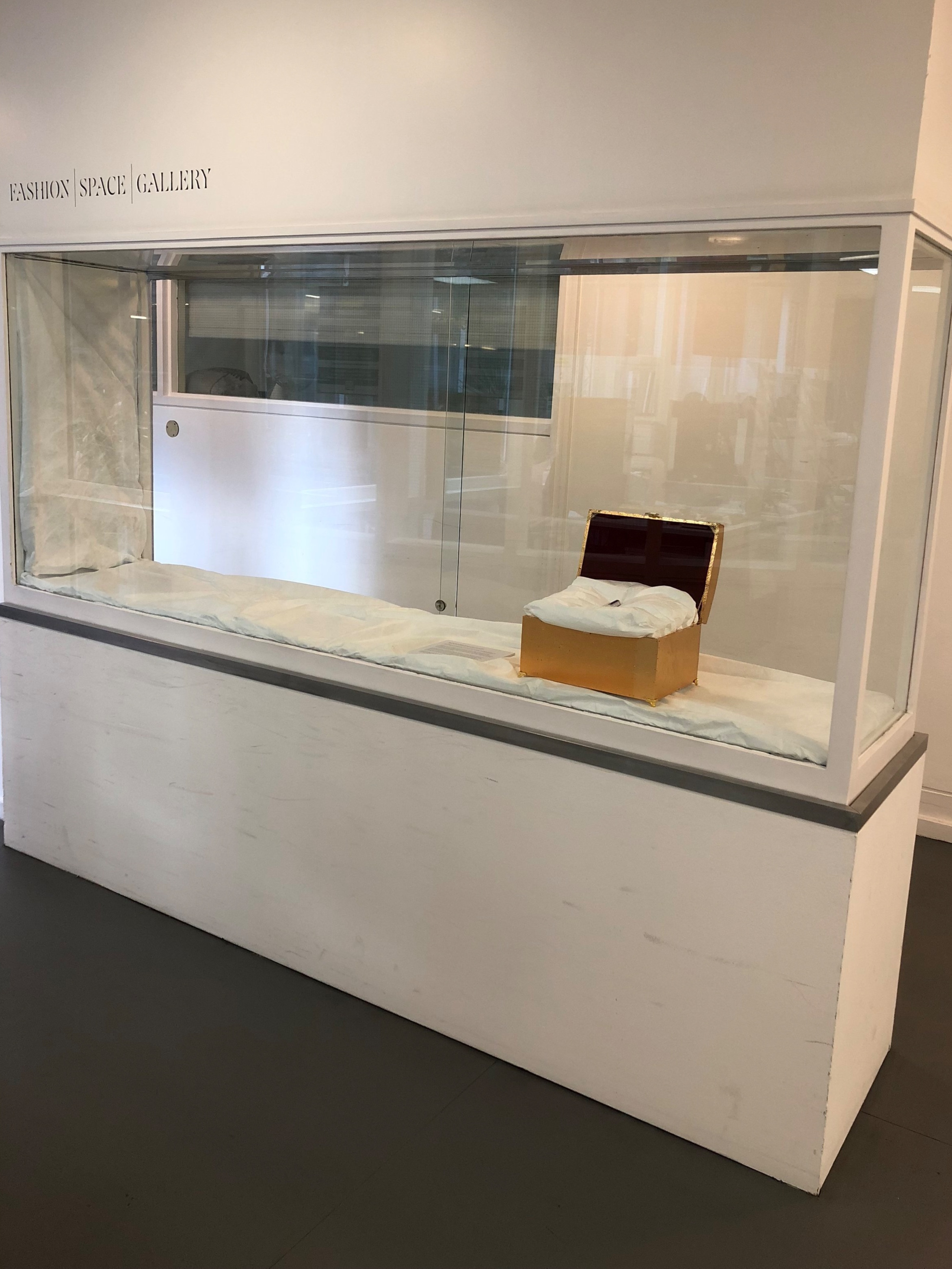 The Sacred Profane: Reliquary of Francis Golding , an exhibition questioning object biography and curatorial interruption, curated by Cyana Madsen (September - December 2018)