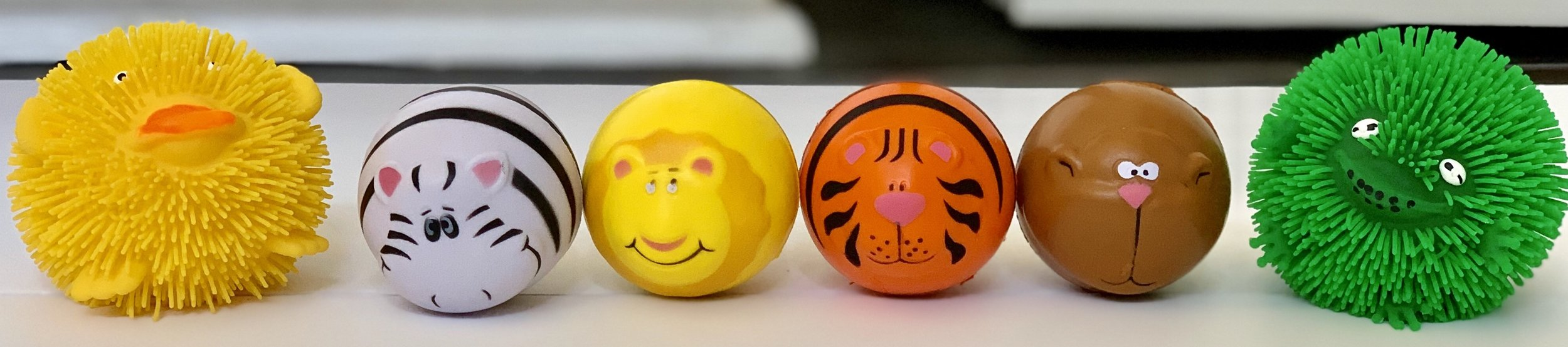 Stress balls - purchased on  Amazon  and at  Lakeshore Learning
