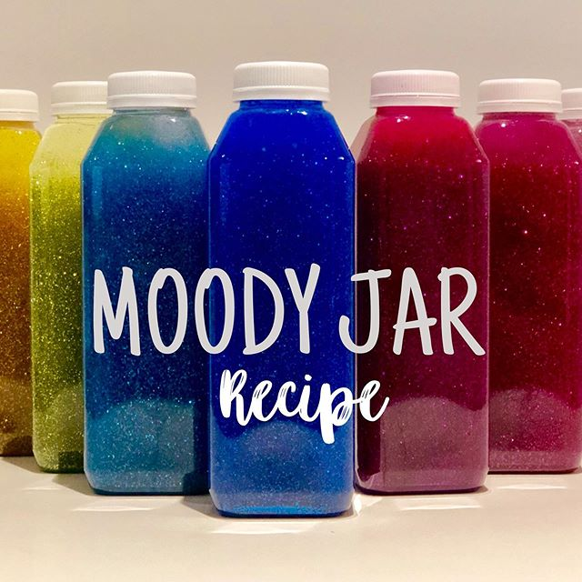 🌈✨I finally posted the Moody Jar Recipe on my website! Follow the link in my bio ❤️🧡💛💚💙💜