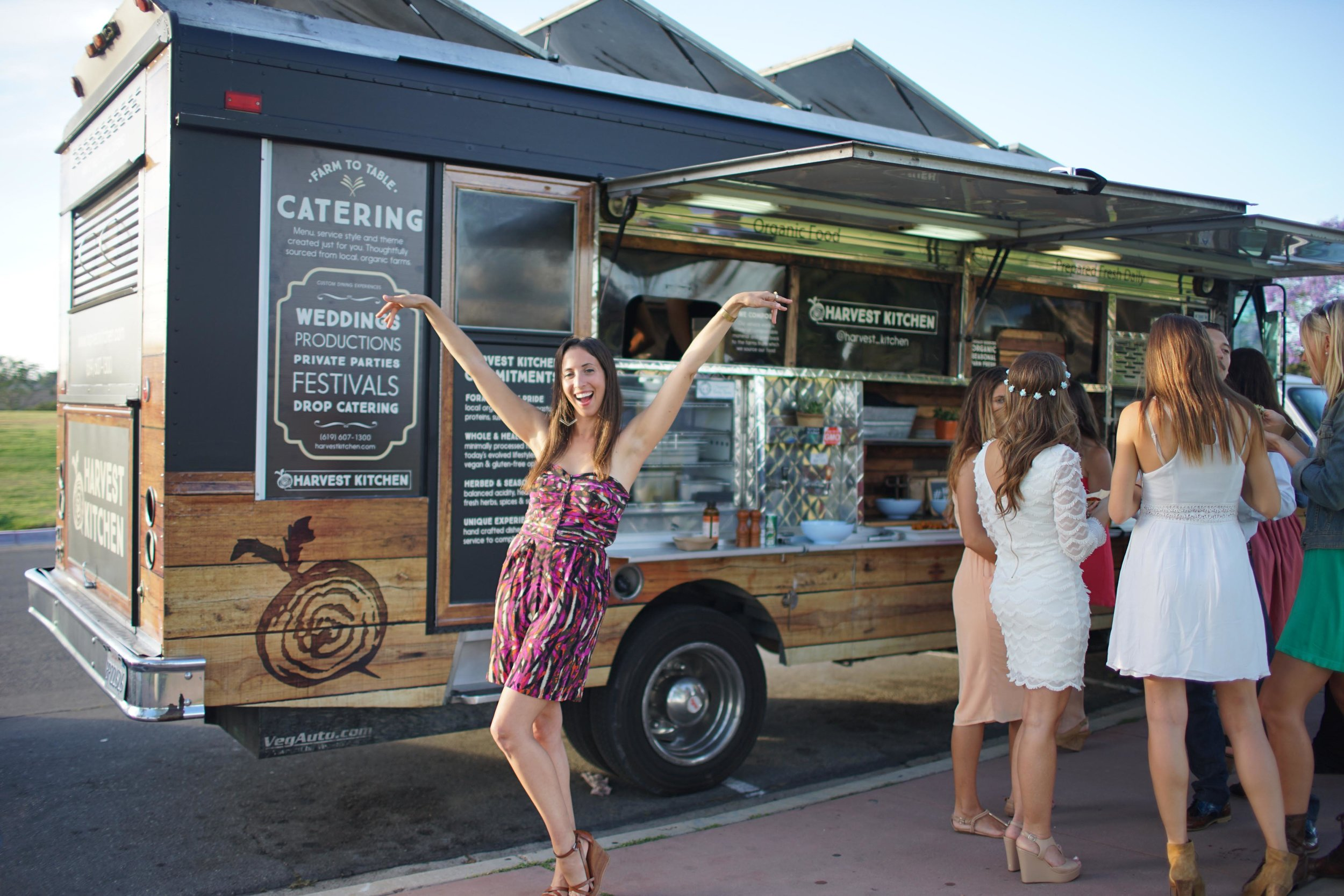 Fun and innovative catering truck services in San Diego, Palm Springs, Joshua Tree, Temecula, Vista, CA