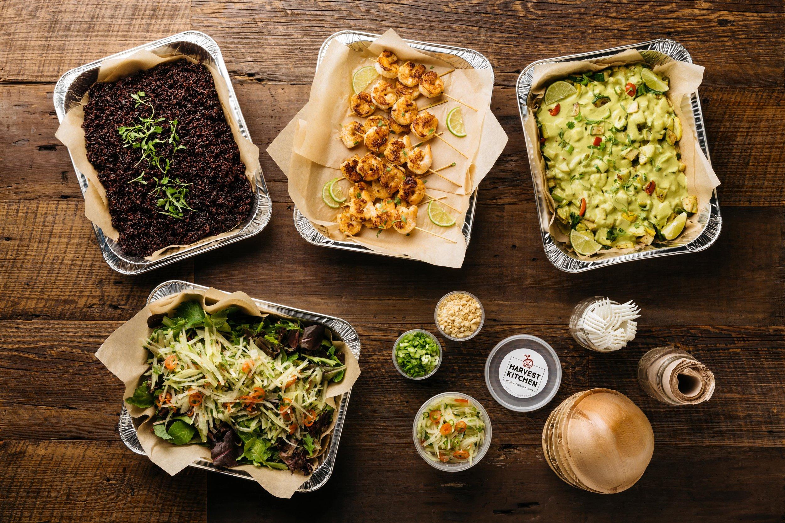 fresh plated organic food catering  San Diego, Palm Springs, Joshua Tree, Temecula, Vista, CA