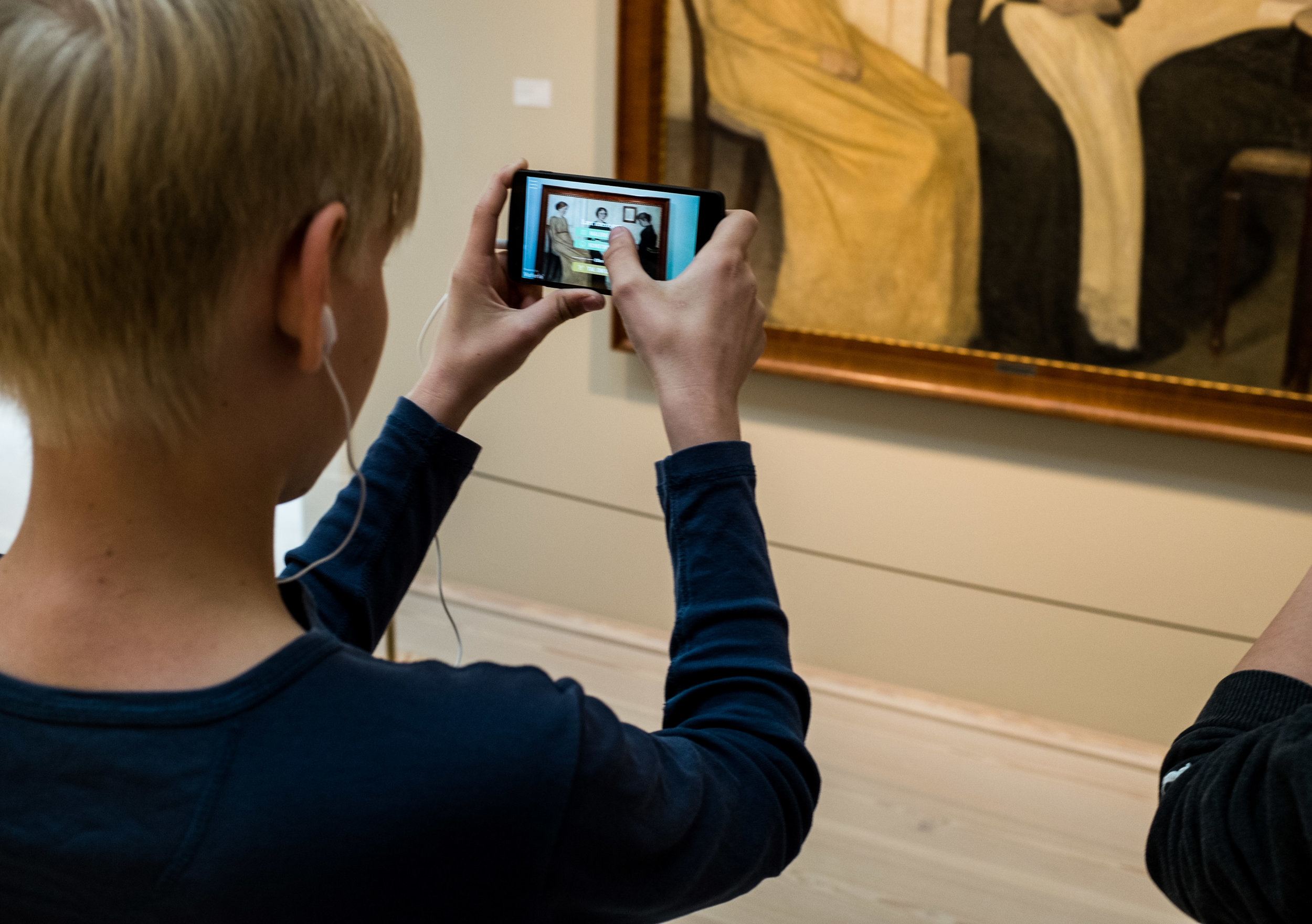 ArtView - An educational guide app for Ribe Art Museum
