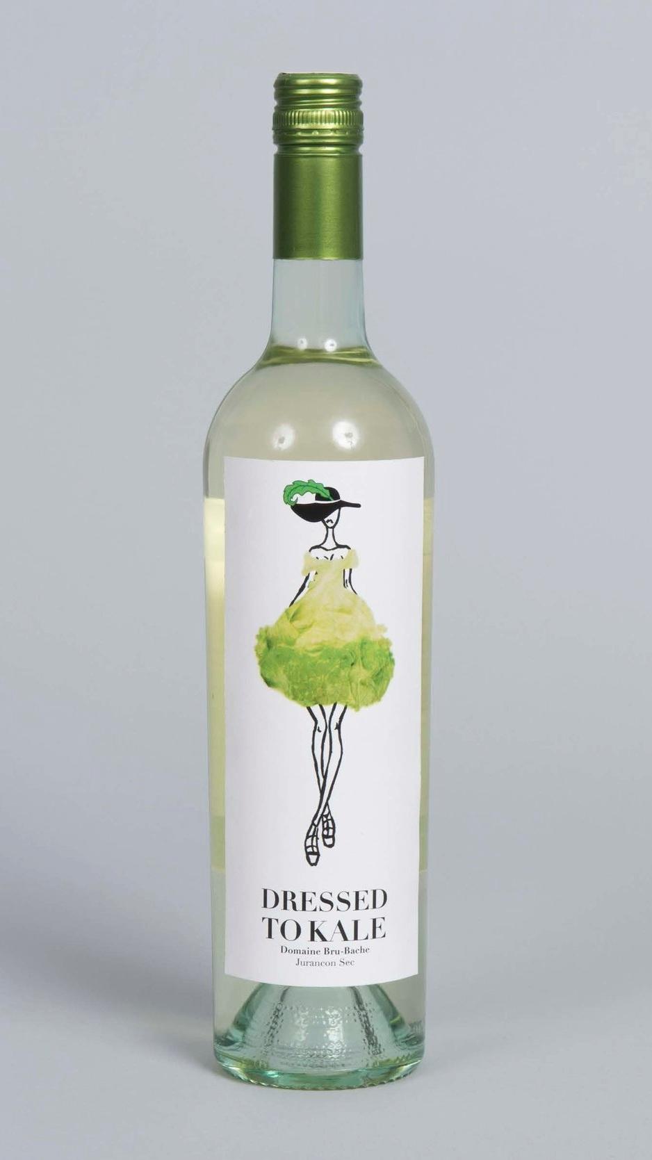 Dressed to Kale Wine Bottle  Instructor: Kelly Holohan