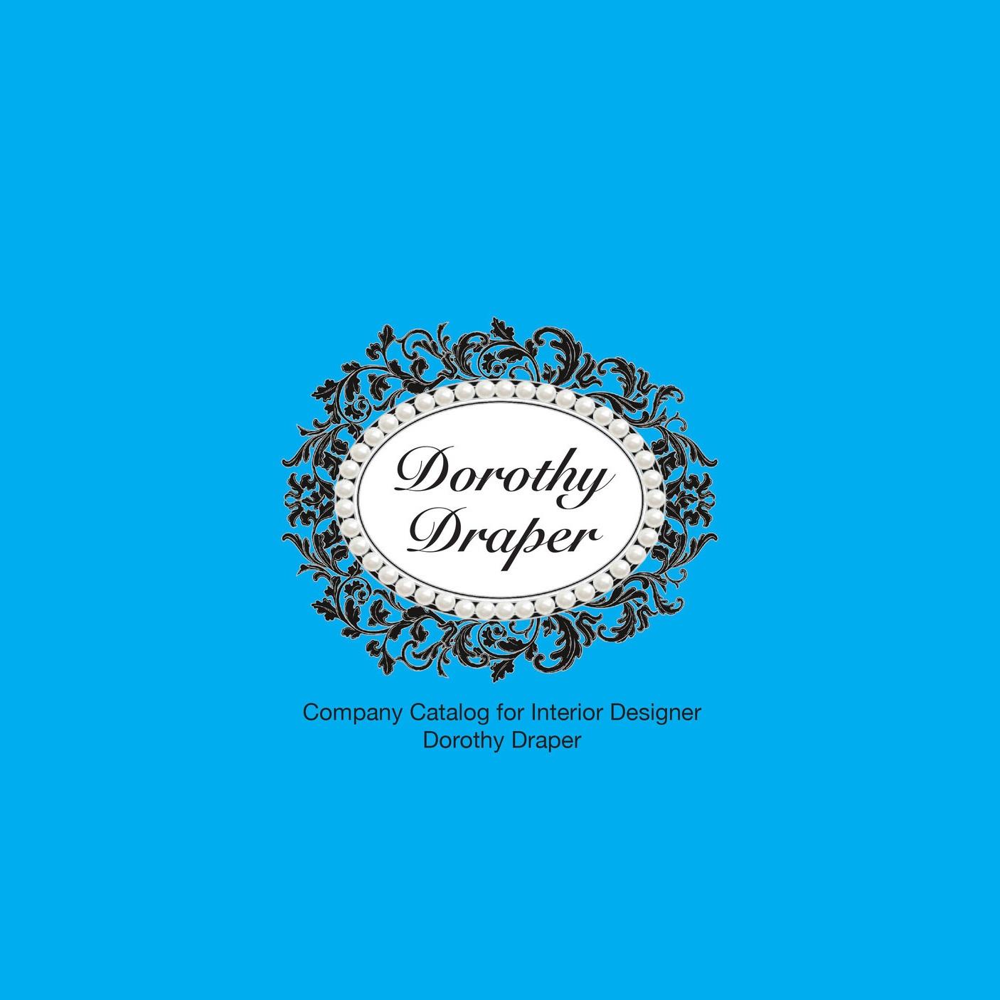 Dorothy Draper:  Company Catalog