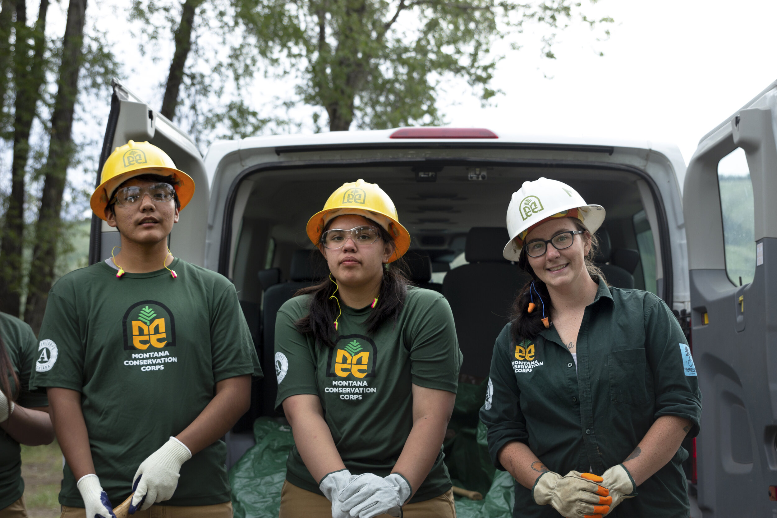 Grand Teton National Park Foundation- Youth Conservation Corps and group leader