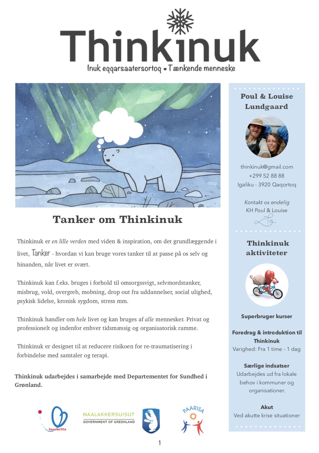Tanker om Thinkinuk  DANSK