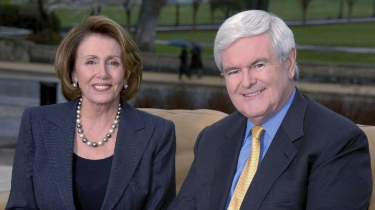Pelosi, Gingrich, and the Speaker of the House.jpg