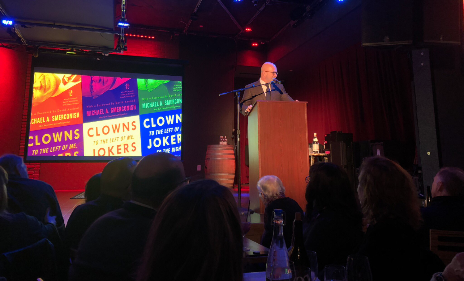 American Life in Columns tour stop at City Winery in Boston, MA (December 2018)