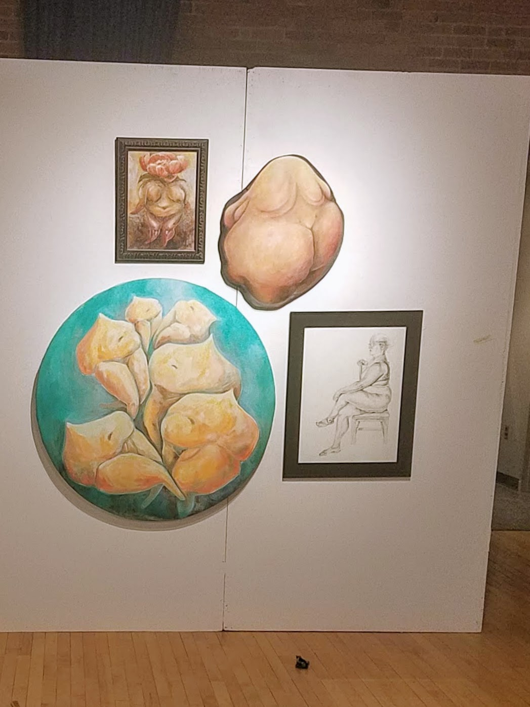 My exhibit went through several changes throughout the residency. I have so many plans for Summer 2019!
