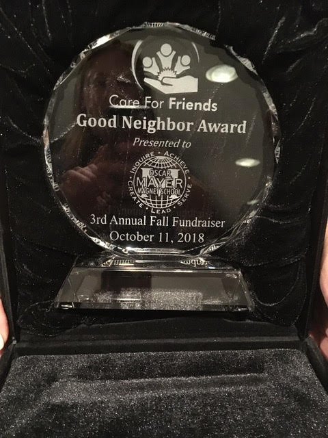 The Good Neighbor Award from Care for Friends