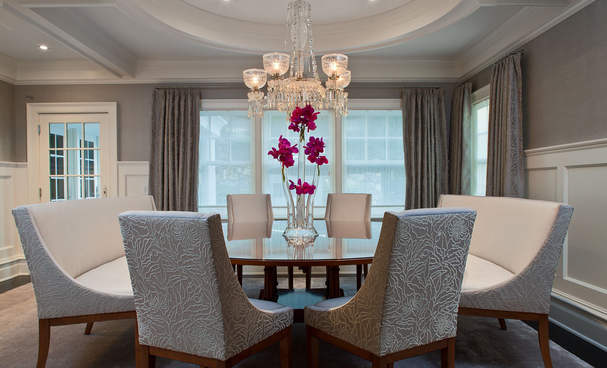 Elegant Living Room Table Set