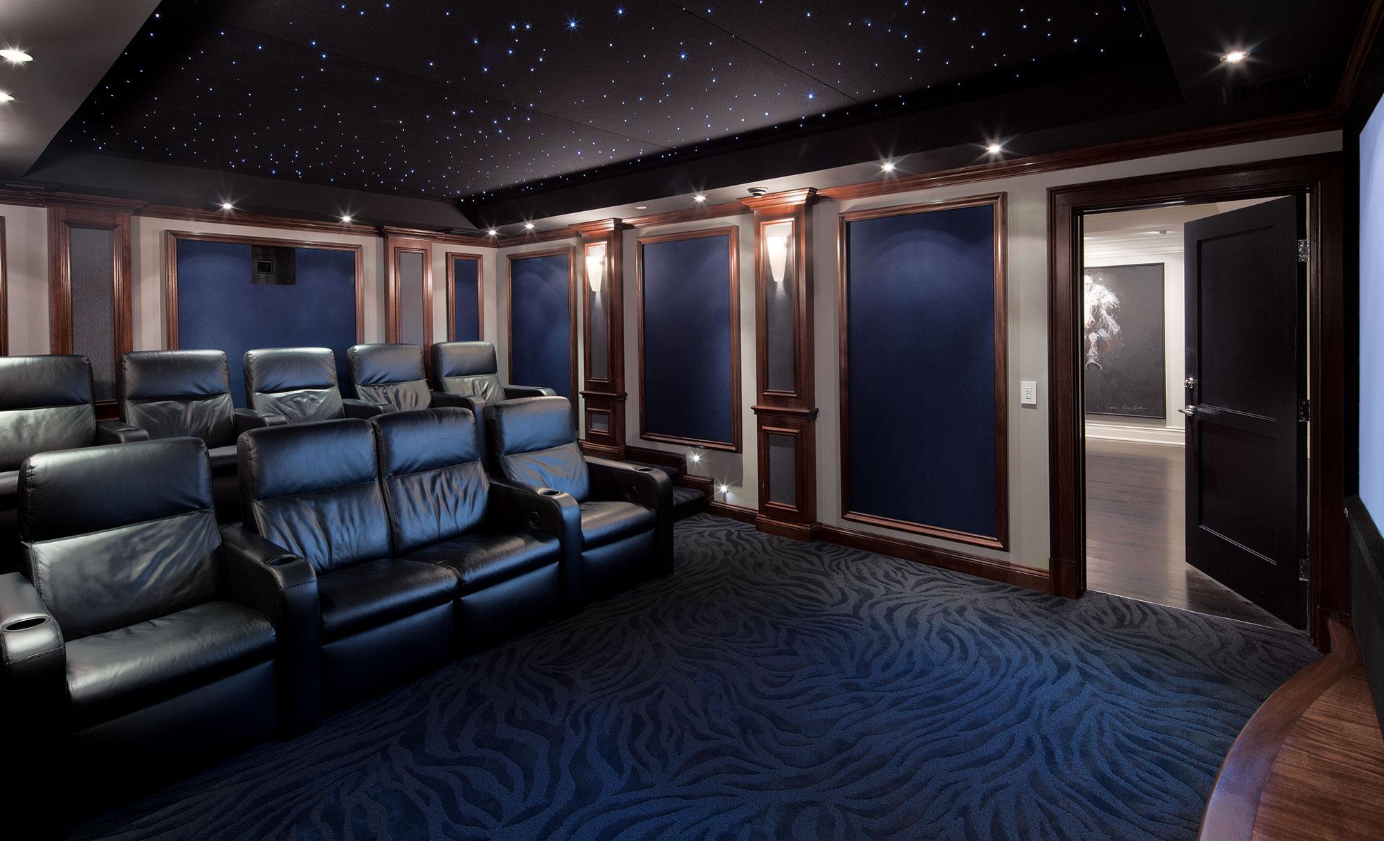 Star Lit Movie Theater