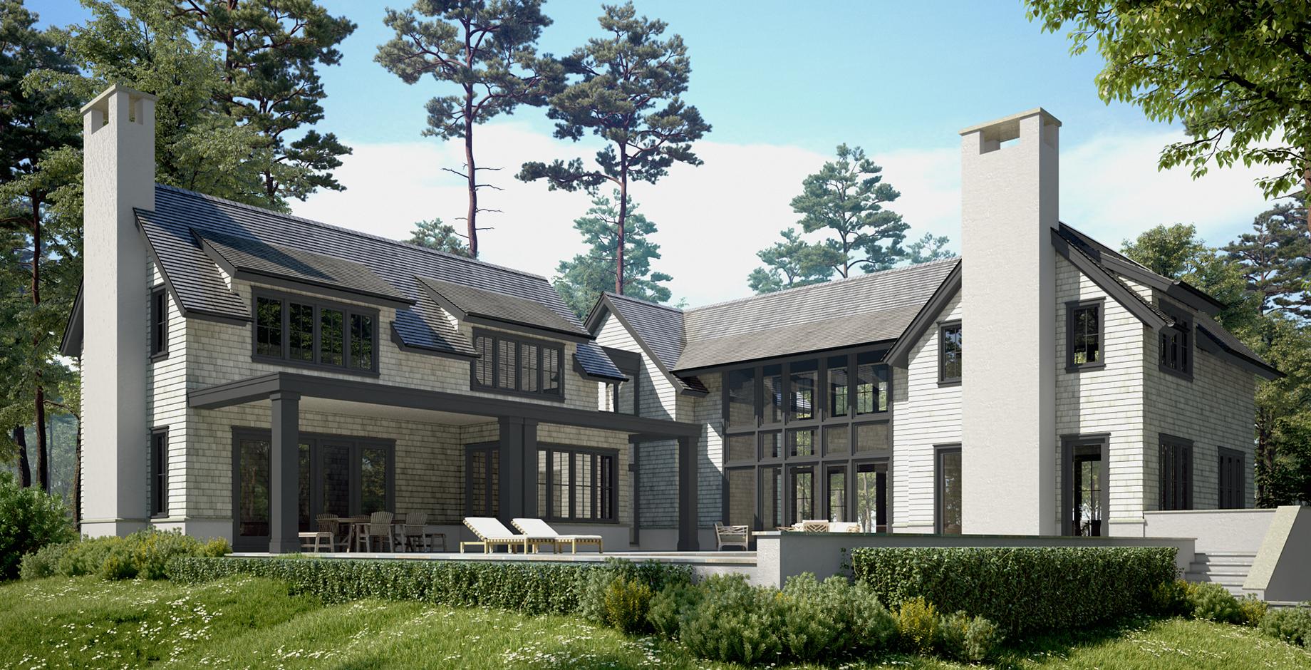 Modern Farm House Style Home in Progress