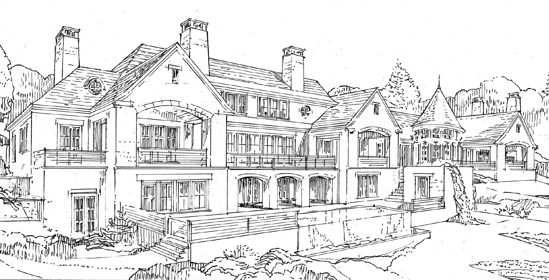 CT Home Design Sketch