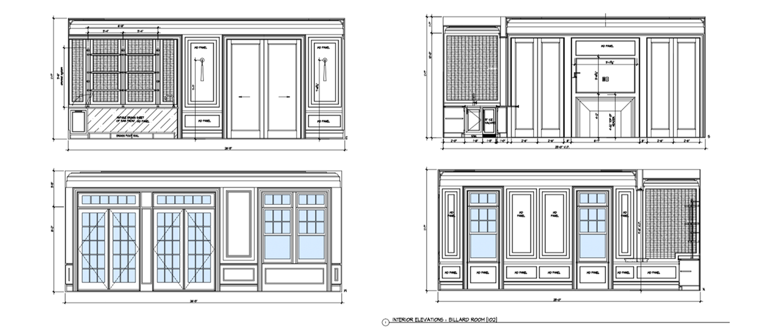 Exterior Home Detail Drawings