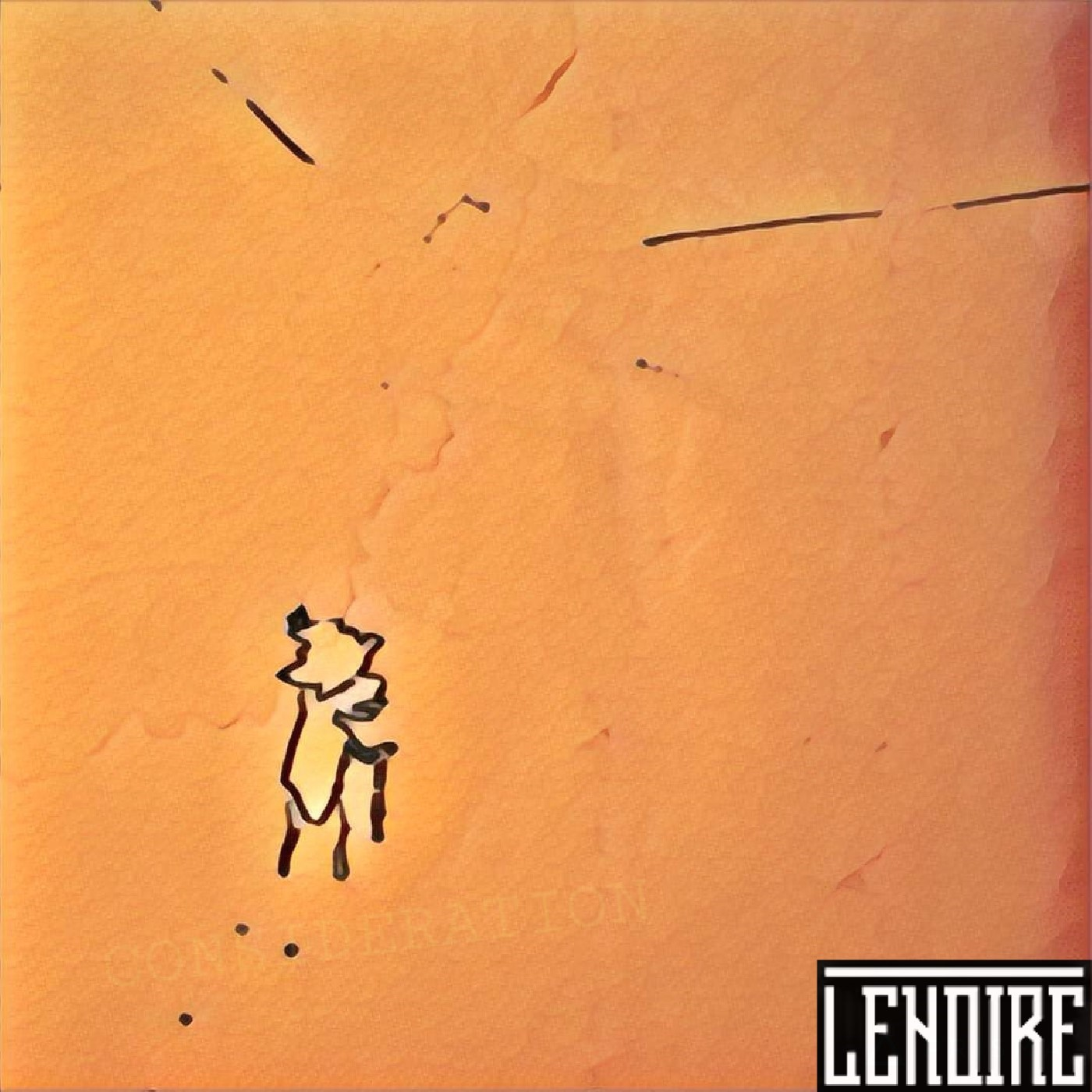 CONSIDERATION     With a grunge and progressive approach, this EP marks the entrance of LENOIRE into the Montreal scene. The two songs, recorded swiftly demonstrate a creative volition pushed to its breaking point, showing the darker side of the formation. Confident and scathing LENOIRE's second EP allows an underlying beauty to shine through.