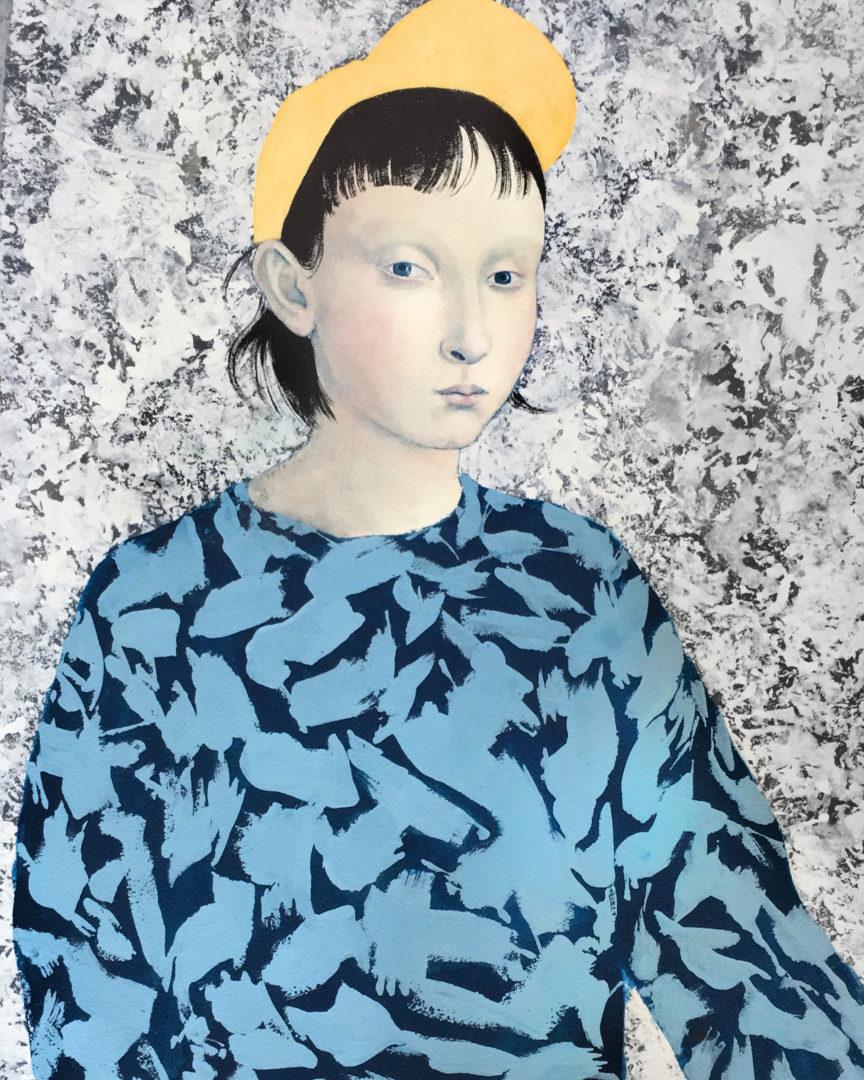 """""""Retrato de chica con gorra"""" , 2018"""