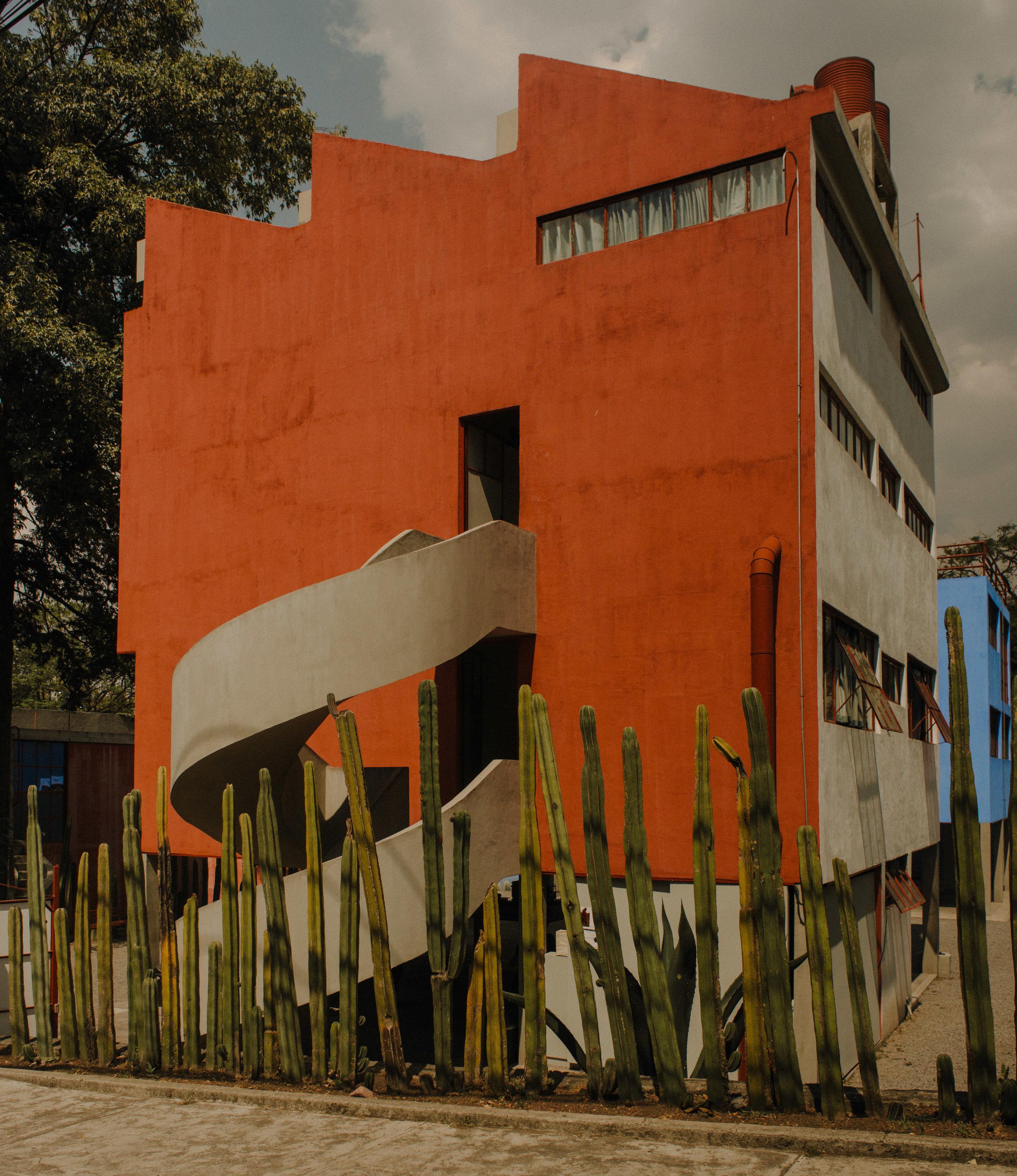 Casa Estudio de Diego Rivera y Frida Kahlo | Arquitectura de Juan O'Gorman