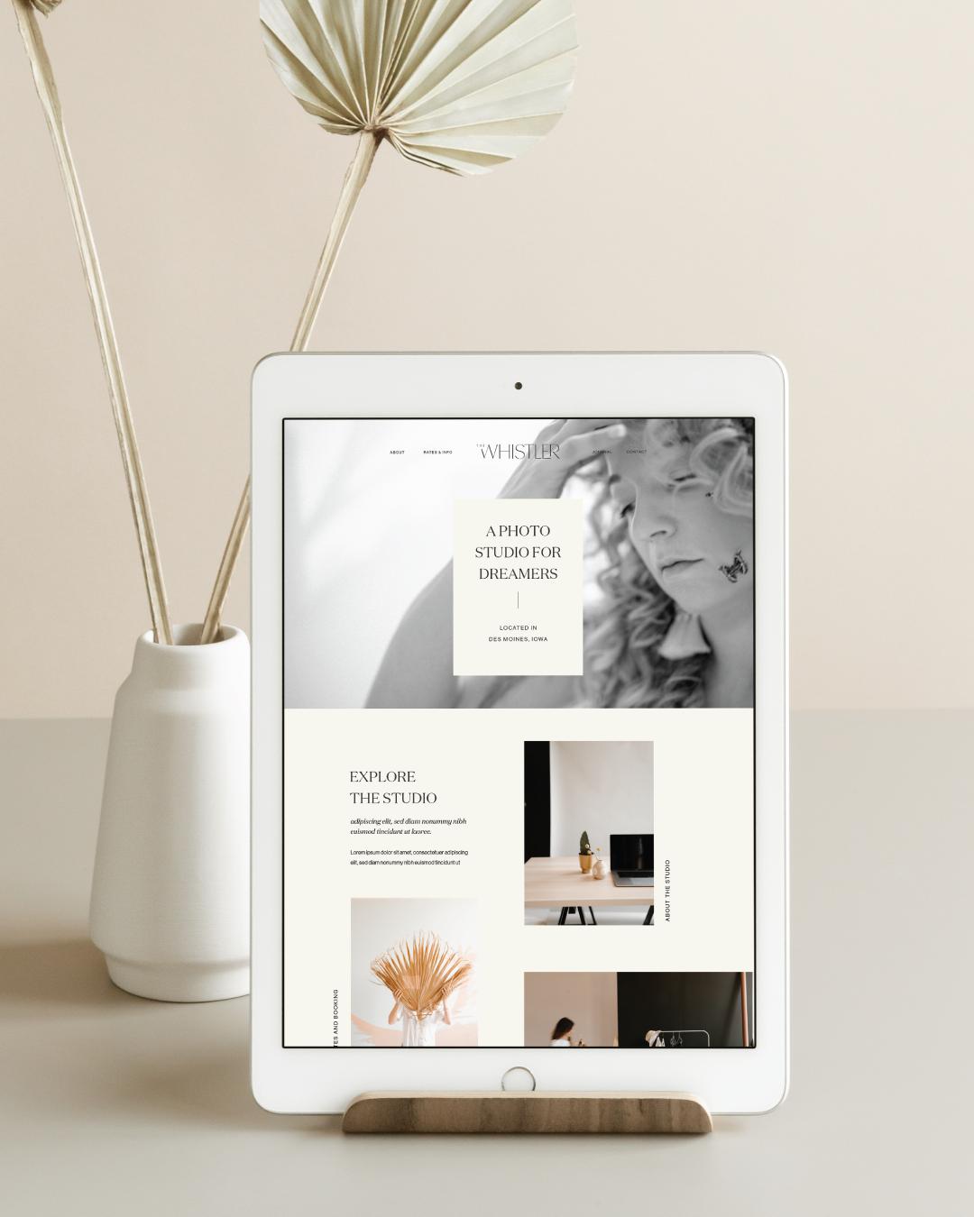 whistler-studio-website