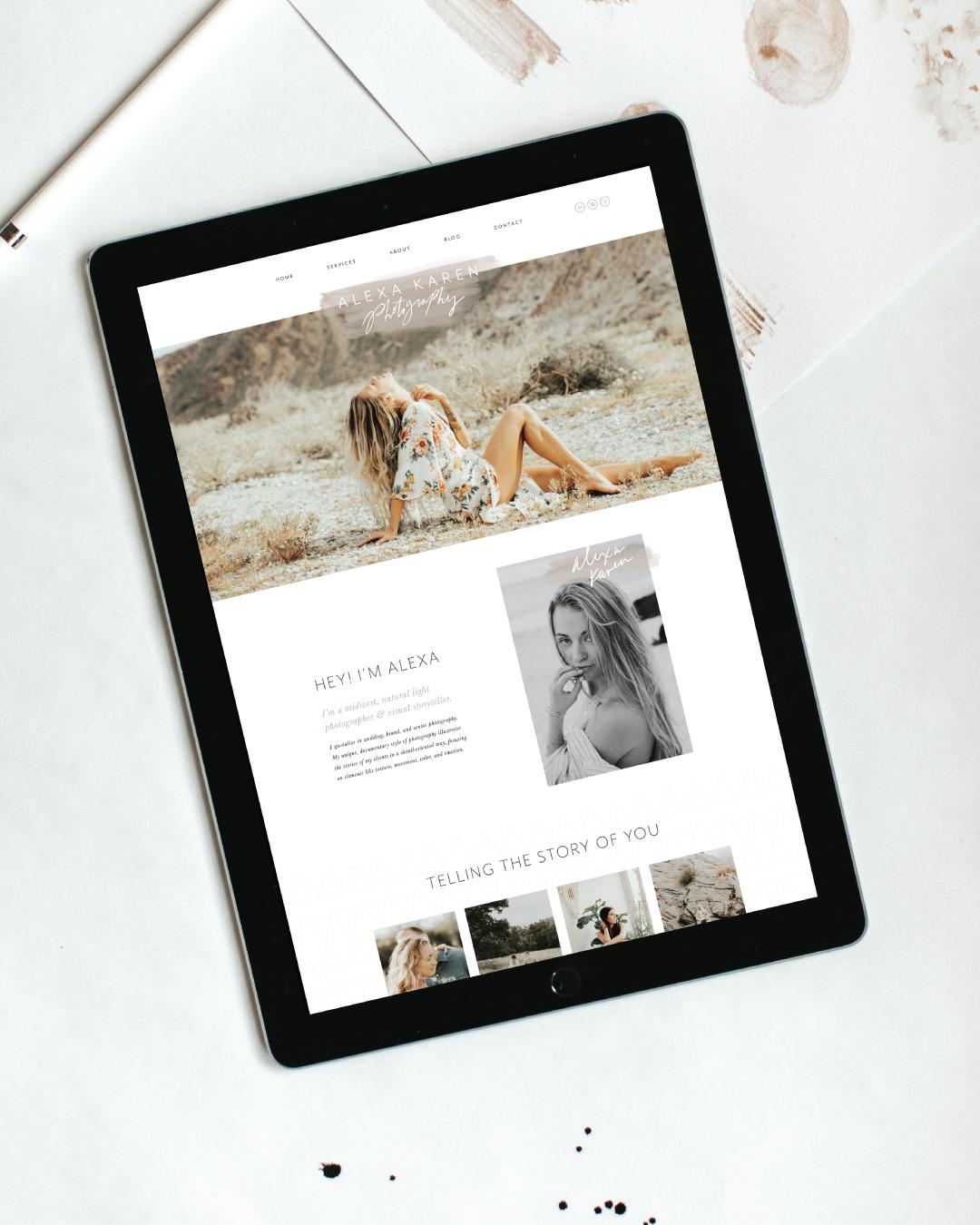 alexa-karen-website-design-squarespace