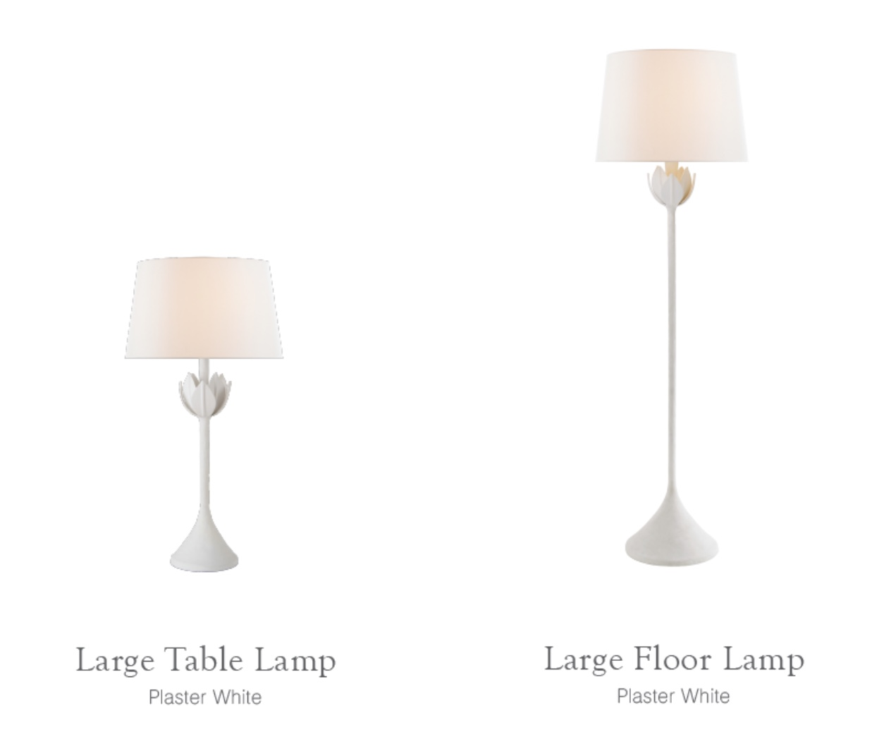Again Visual Comfort lamps so simple and chic