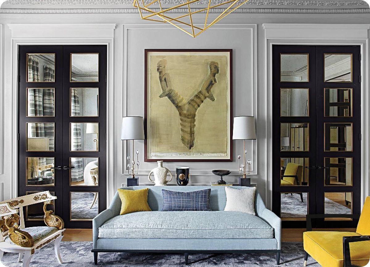 Luxurious and elegant living room a true example of Denoit's mastery